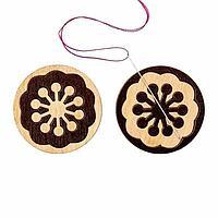 Магнитный держатель для игл, деревянный, фото 1