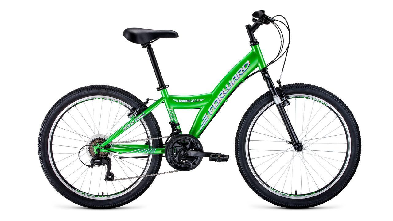 Велосипед Forward Dakota 24 1.0 (2020). Производство Россия. Kaspi RED. Рассрочка