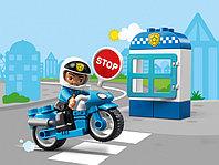 LEGO DUPLO 10900 Полицейский мотоцикл, конструктор ЛЕГО