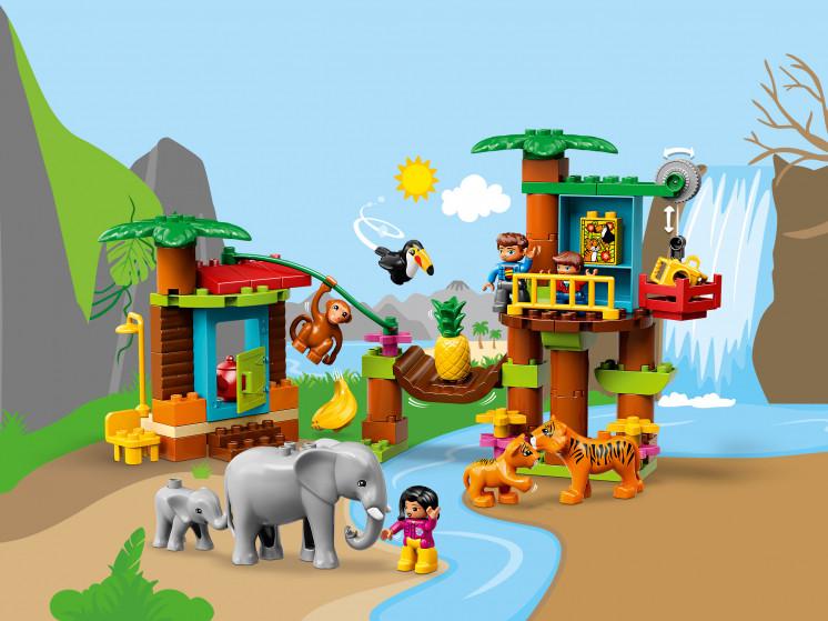 LEGO DUPLO 10906 Тропический остров, конструктор ЛЕГО - фото 1