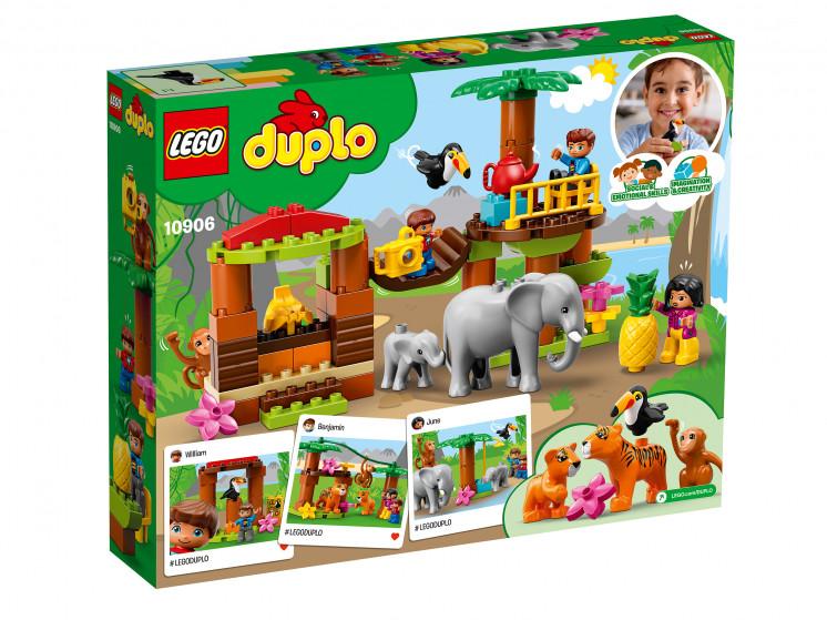 LEGO DUPLO 10906 Тропический остров, конструктор ЛЕГО - фото 4