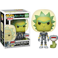 Funko Pop Rick & Morty- Space Suit Rick with snake