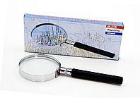 Лупа 60 мм., оптический cтекло в Металлической рамке для чтения со слабым зрением.¶Компактный размер, удобно носить с собой¶Материал: сплав цинка, пла