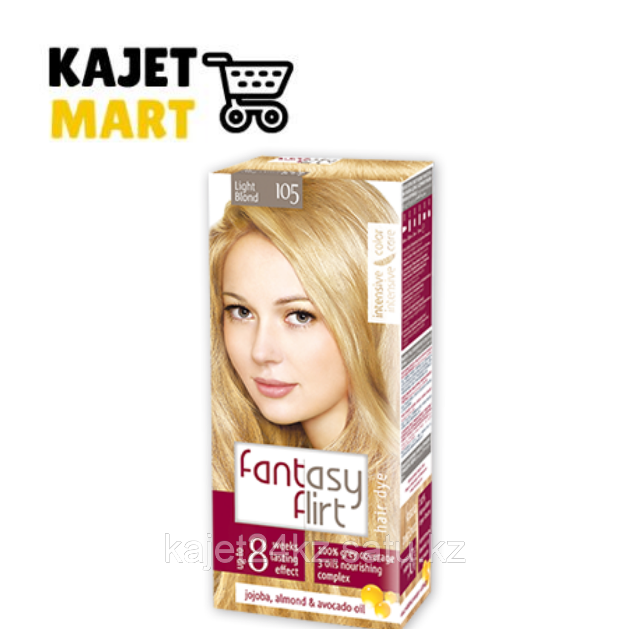 Fantasy FLIRT Краска для волос №105 светло-русый блонд 113мл.