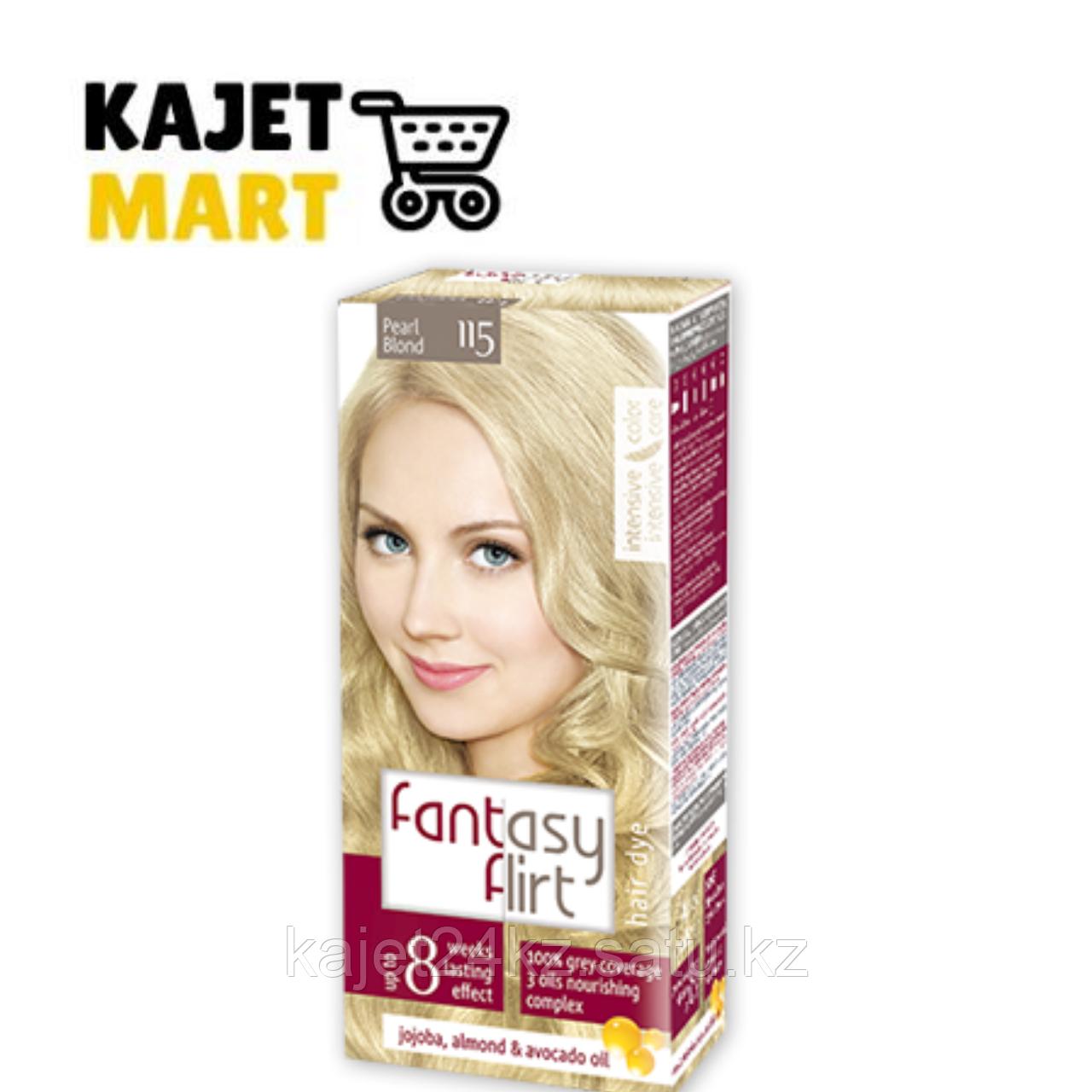 Fantasy FLIRT Краска для волос №115 жемчужный блонд 113мл.