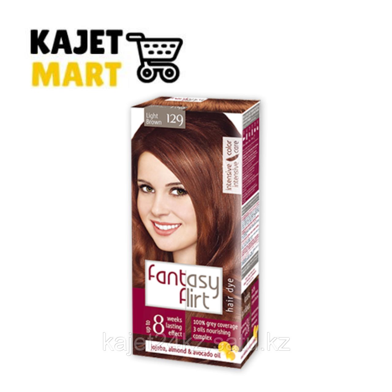 Fantasy FLIRT Краска для волос №129 светло-коричневый 113мл.