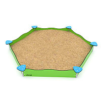 Песочница шестигранник