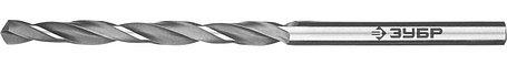 """Сверло по металлу ЗУБР Ø 3.7 x 70 мм, класс В, Р6М5, серия """"Профессионал"""" (29621-3.7), фото 2"""