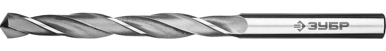 """Сверло по металлу ЗУБР Ø 6.5 x 101 мм, класс В, Р6М5, серия """"Профессионал"""" (29621-6.5)"""