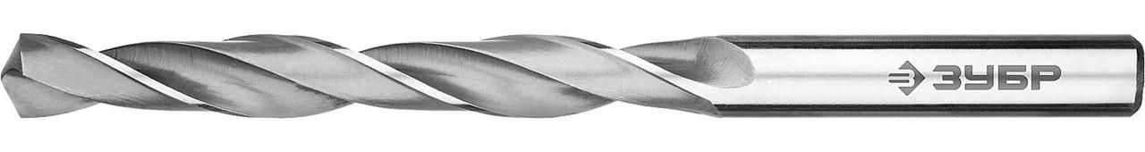 """Сверло по металлу ЗУБР Ø 8.5 x 117 мм, класс В, Р6М5, серия """"Профессионал"""" (29621-8.5)"""