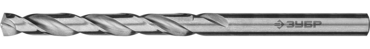 """Сверло по металлу ЗУБР Ø 6.5 x 101 мм, класс А, Р6М5, серия """"Профессионал"""" (29625-6.5)"""