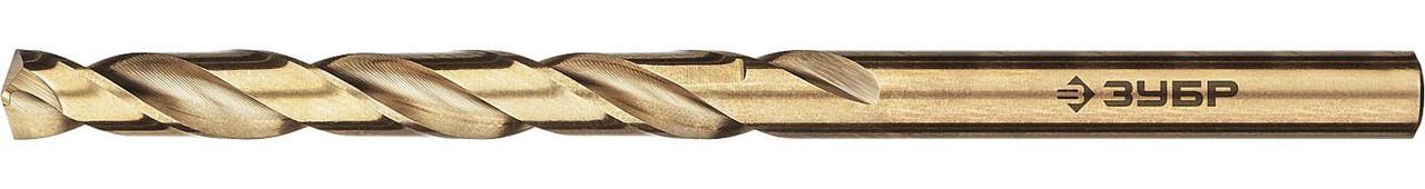 """Сверло по металлу ЗУБР Ø 7.5 x 117 мм, класс А, Р6М5К5, серия """"Профессионал"""" (29626-7.5)"""