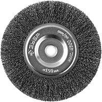 """Щетка дисковая для точильно-шлифовального станка ЗУБР Ø 150 мм, серия """"Профессионал"""" (35185-150_z02)"""