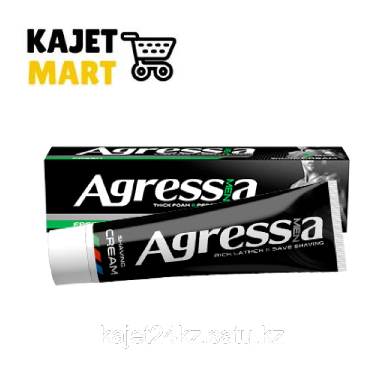 Крем для бритья Agressia Fresh 100мл