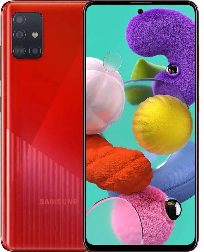 Galaxy A51 2020 4/64Gb Red EAC