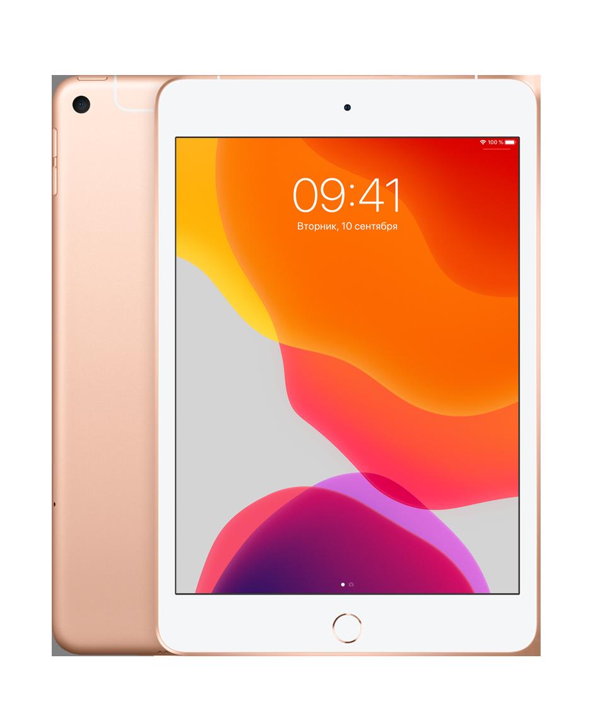 Планшет Apple iPad mini (5th generation) Wi-Fi + Cellular (LTE) 256Gb Gold