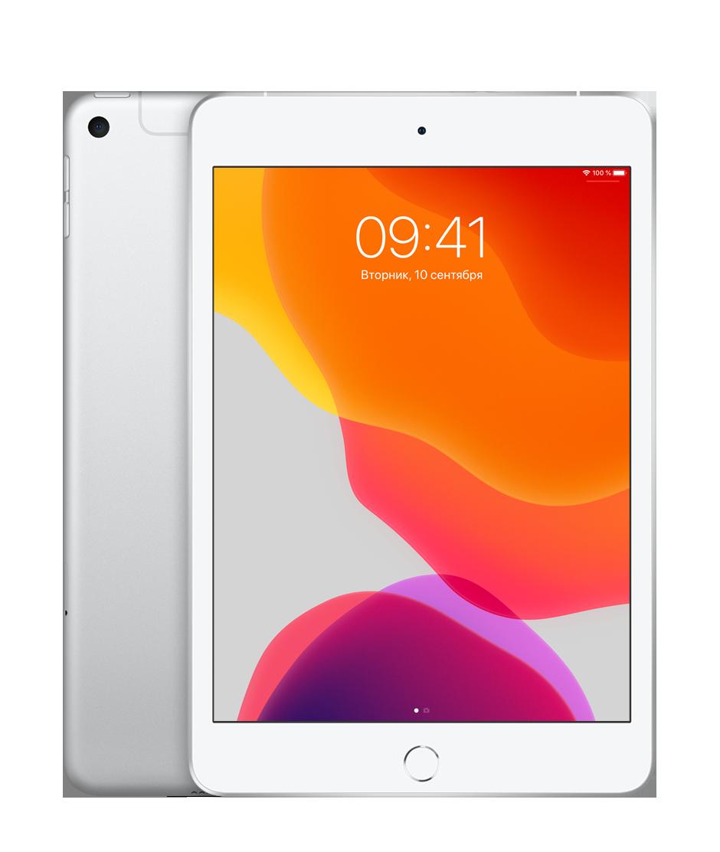 Планшет Apple iPad mini (5th generation) Wi-Fi + Cellular (LTE) 512Gb Silver