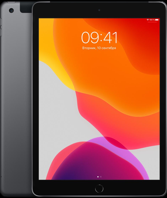 Планшет Apple iPad 10.2″ (7th generation) Wi-Fi + Cellular (LTE) 128Gb Space Gray