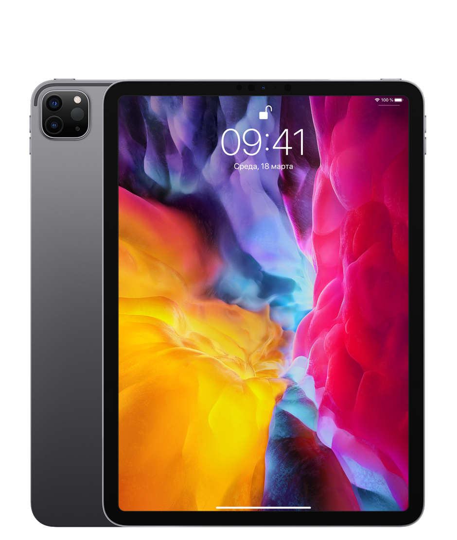 Планшет Apple iPad Pro 11″ (2th generation) Wi-Fi 256Gb Space Gray