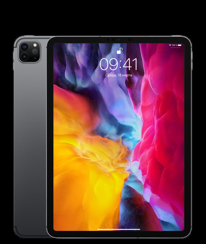Планшет Apple iPad Pro 11″ (2th generation) Wi-Fi + Cellular (LTE) 512Gb Space Gray