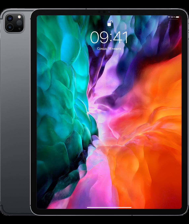 Планшет Apple iPad Pro 12.9″ (4th generation) Wi-Fi + Cellular (LTE) 128Gb Space Gray
