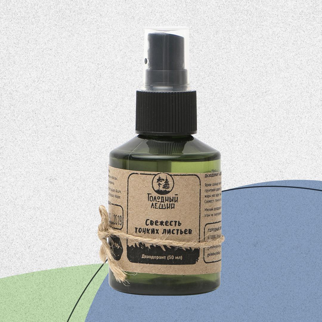 Натуральный дезодорант «Свежесть тонких листьев»