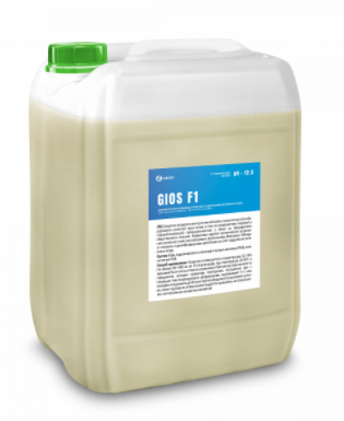 Щелочное пенное моющее средство с содержанием активного хлора GIOS F1, фото 2