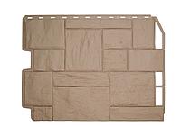 Фасадные панели Бежевый 795х595 мм Туф Дачный FINEBER, фото 1