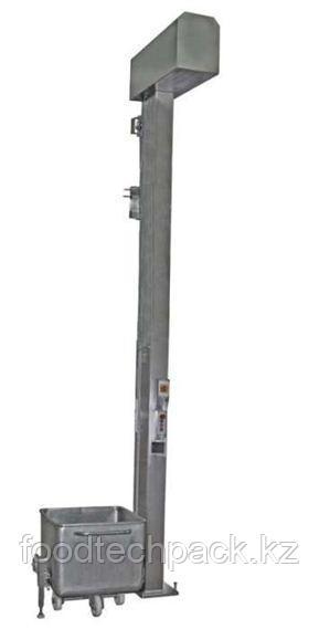 Колонный подъёмник-загрузчик 300 л. тележек, 31.0355.05 / 31.1355.05