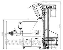 Колонный подъёмник-загрузчик 200 л. тележек, 31.0319.41