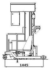 Колонный подъёмник-загрузчик 200 л. тележек и товарных тележек, 31.3003.1007