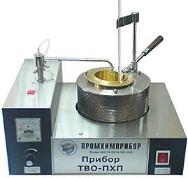 Аппарат ТВО для определения t вспышки в открытом тигле по ТУ 38.110488-88 для обеспечения методики ГОСТ4333