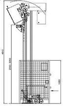 Колонный подъёмник-загрузчик 200 л. тележек  31.0003.3018