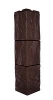 Угол наружный Коричневый 589х146х146 мм Туф ДАЧНЫЙ FINEBER