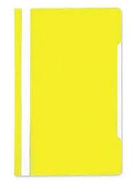 Папка-скоросшиватель, А4, 160/180 мкм, желтая