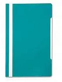 Папка-скоросшиватель, А4, 160/180 мкм, берюзовый
