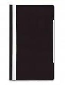 Папка-скоросшиватель, А4, 160/180 мкм, черная