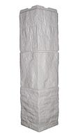 Угол наружный Белый 589 мм Туф Дачный FINEBER