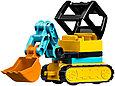 10933 Lego Duplo Башенный кран на стройке, Лего Дупло (уценка -50%), фото 9