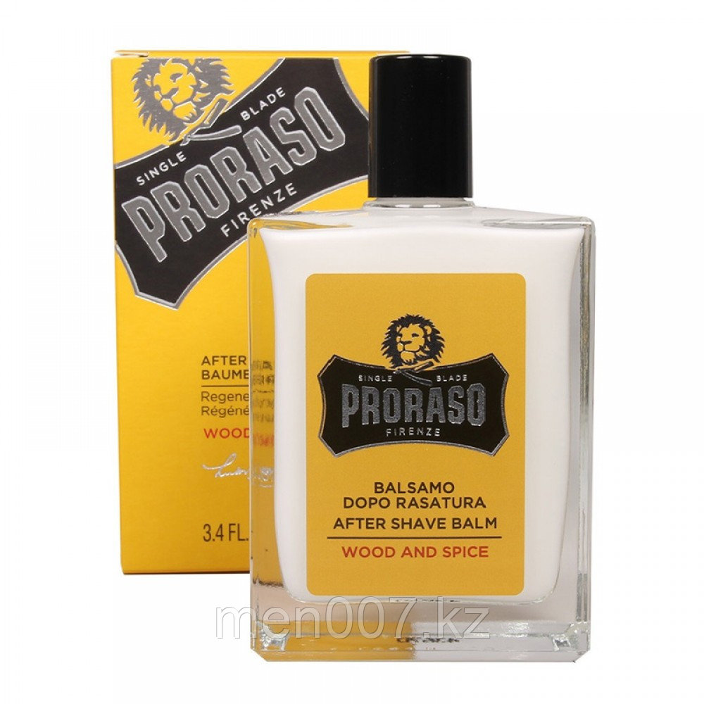 PRORASO Wood & Spice (Бальзам после бритья) (Кедр и пряности)