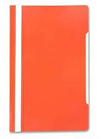 Папка-скоросшиватель, А4, 160/180 мкм, оранжевая
