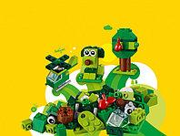 LEGO Classic 11007 Зеленый набор для конструирования, конструктор ЛЕГО