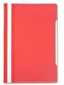 Папка-скоросшиватель, А4, 160/180 мкм, красная