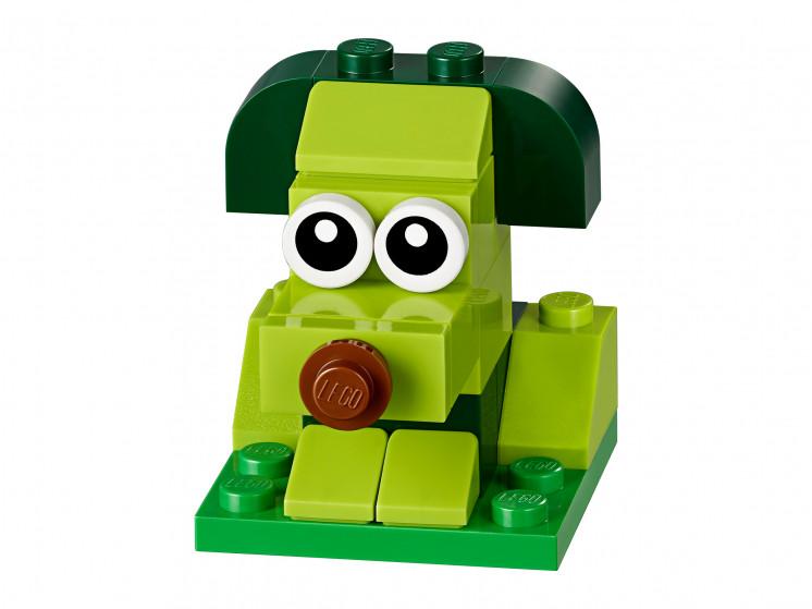 LEGO Classic 11007 Зеленый набор для конструирования, конструктор ЛЕГО - фото 6