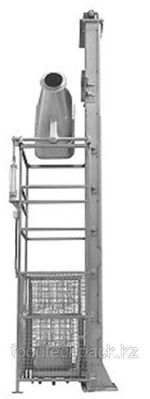 Подъёмник-загрузчик с подвижным лотком и забором 31.2205.4516