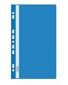 Папка-скоросшиватель  с перфорацией, А4, 160/180 мкм, синий