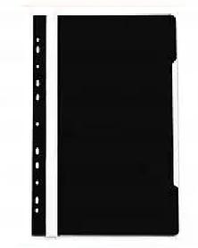 Папка-скоросшиватель  с перфорацией, А4, 160/180 мкм, черный