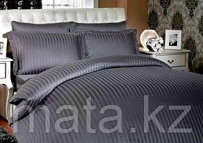 Комплект постельного белья 1,5 страйп-сатин Турция, фото 2