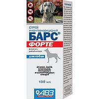 Барс Форте спрей инсектоакарицидный для собак - 100 мл