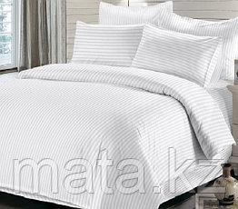 Комплект постельного белья 1,5 страйп-сатин Турция, фото 3
